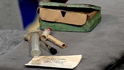 Antiques Roadshow -- S18 Ep30: Appraisal: World War I Snakebite Kit