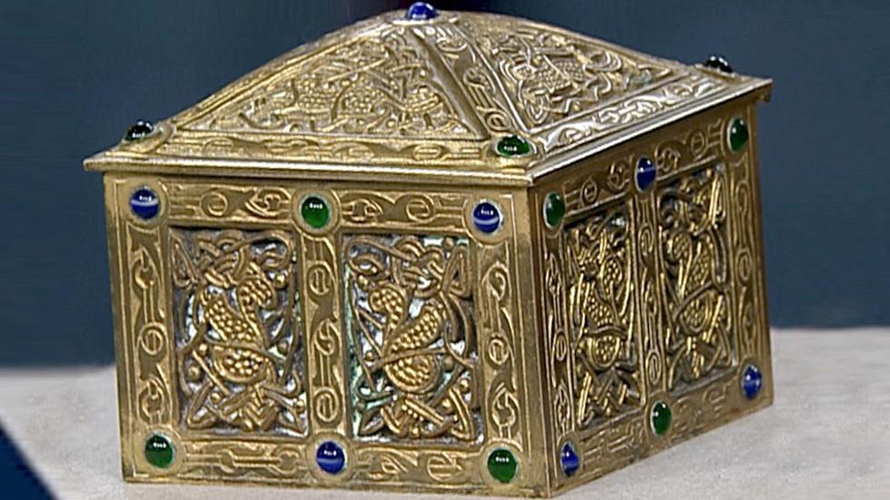 S18 Ep30: Appraisal: Tiffany Studios Gilt-Bronze Box image
