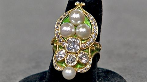 Antiques Roadshow -- S18 Ep30: Appraisal: Marcus & Co. Tiara Ring, ca. 1890