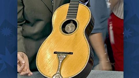 Antiques Roadshow -- S18 Ep30: Appraisal: William B. Tilton Guitar, ca. 1865