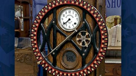 Antiques Roadshow -- S18 Ep30: Appraisal: Dey Time Recorder