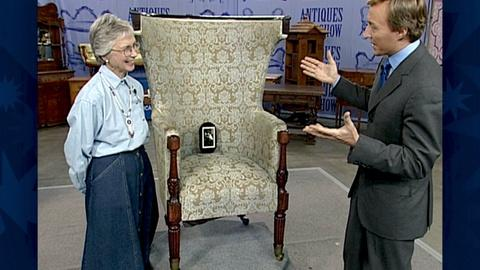 Antiques Roadshow -- S18 Ep30: Appraisal: Federal Mahogany Wing Armchair