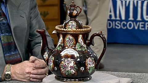 Antiques Roadshow -- S18 Ep30: Appraisal: 1887 English Bargeware
