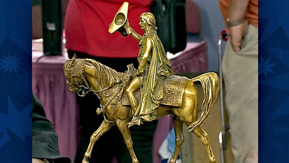 S18 Ep30: Appraisal: Jean-Léon Gérôme Napoleon Bronze, ca. 1 image