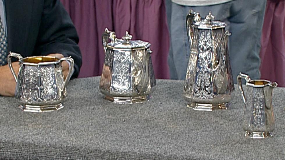 S18 Ep30: Appraisal: 1844 London Sterling Tea Set image