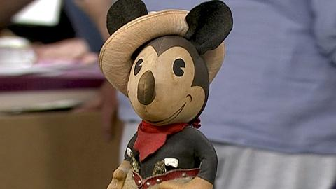 Antiques Roadshow -- S18 Ep31: Appraisal: Knickerbocker Cowboy Mickey Mouse
