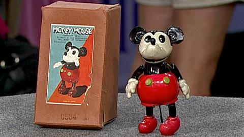 Antiques Roadshow -- S18 Ep31: Appraisal: Rambling Mickey Mouse Toy & Original Bo