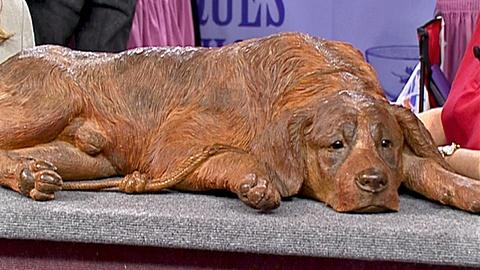 Antiques Roadshow -- S18 Ep31: Appraisal: Black Forest Carved Dog, ca. 1905