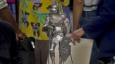 Antiques Roadshow -- S18 Ep31: Appraisal: Sterling Silver Knight, ca. 1900