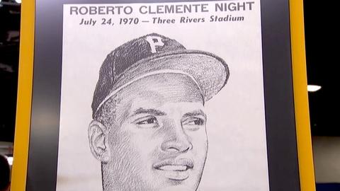 Antiques Roadshow -- S18 Ep19: Appraisal: Signed Roberto Clemente Poster, ca. 197