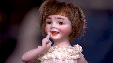 """Antiques Roadshow -- S18 Ep19: Appraisal: Orsini """"Vivi"""" Bisque Doll, ca. 1919"""