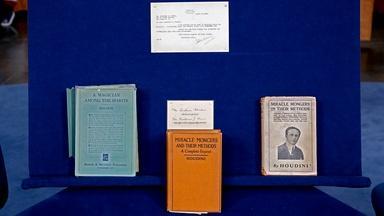 Appraisal: Signed Houdini Books & Ephemera