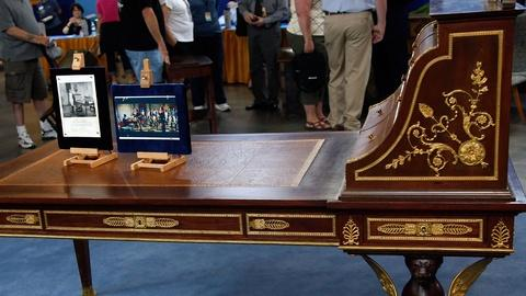 Antiques Roadshow -- S16 Ep18: Appraisal: French Cartonnier Bureau Plat Movie Pro