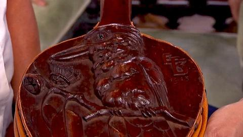 Antiques Roadshow -- S18 Ep20: Appraisal: 1913 Robert Prenzel Carved Bellows