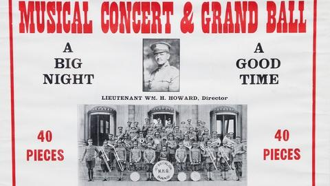 Antiques Roadshow -- S16 Ep18: Appraisal: WWI African American Band Poster & Phot