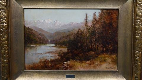 Antiques Roadshow -- S16 Ep18: Appraisal: Thomas Hill Oil Painting, ca. 1890