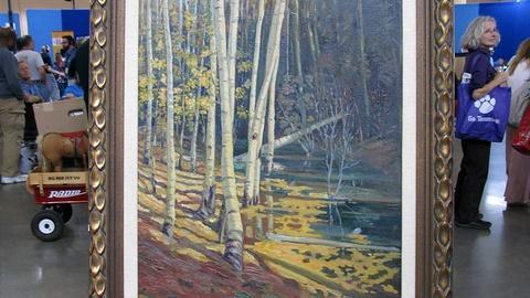 Antiques Roadshow -- S16 Ep18: Appraisal: Joseph Fleck Taos Landscape, ca. 1927