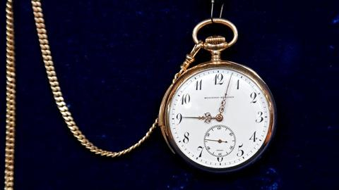 Antiques Roadshow -- S18 Ep20: Appraisal: Wittnauer Pocket Watch, ca. 1925