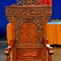 Appraisal: Jacobean-Style Great Chair, ca. 1890