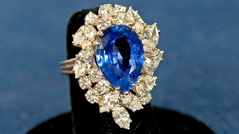 Antiques Roadshow -- Appraisal: Cartier Sapphire & Diamond Ring
