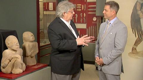 Antiques Roadshow -- Field Trip: Prehistoric Native American Stonework Artifacts