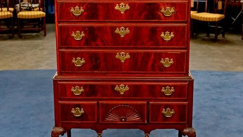 Antiques Roadshow -- S18 Ep22: Appraisal: Queen Anne Style Highboy, ca. 1925