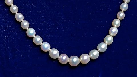 Antiques Roadshow -- S18 Ep22: Appraisal: Graduated Natural Oriental Pearl Neckla