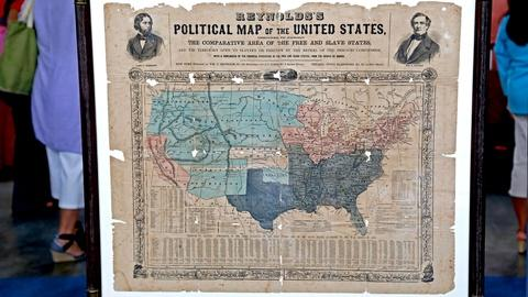 Antiques Roadshow -- S18 Ep23: Appraisal: 1856 First Republican Campaign Map