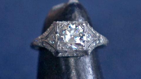 Antiques Roadshow -- S18 Ep23: Appraisal: Diamond Ring, ca. 1925