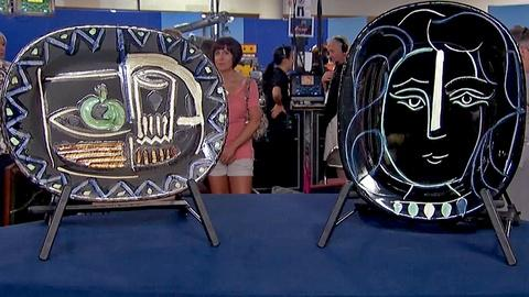 Antiques Roadshow -- S18 Ep23: Appraisal: Picasso Madoura Plates