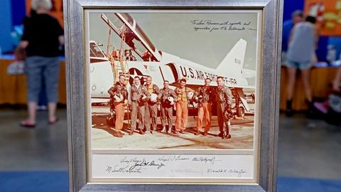 "Antiques Roadshow -- Appraisal: NASA ""Mercury 7"" Signed Photo, ca. 1960"