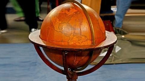Antiques Roadshow -- S18 Ep24: Appraisal: 1844 Newton's Terrestrial Floor Globe
