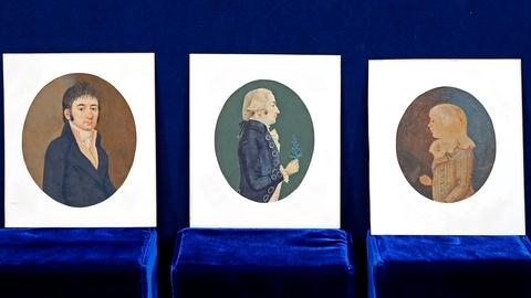 Antiques Roadshow -- Appraisal: American Watercolor Portraits, ca. 1790