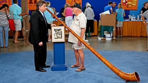 "Antiques Roadshow -- S18 Ep22: Appraisal: Laurel & Hardy ""Swiss Miss"" Horn, ca. 1"