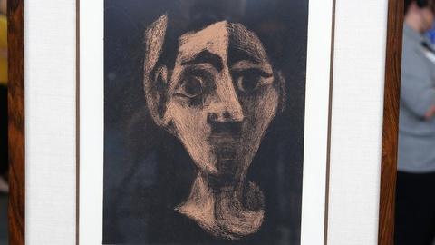 Antiques Roadshow -- S18 Ep32: Appraisal: Pablo Picasso Linoleum Cut, ca. 1950