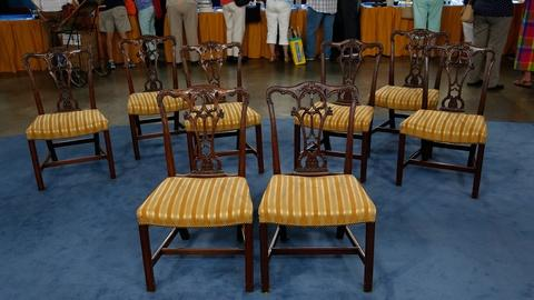 Antiques Roadshow -- S18 Ep32: Appraisal: 20th-Century Chippendale-Style Dining C