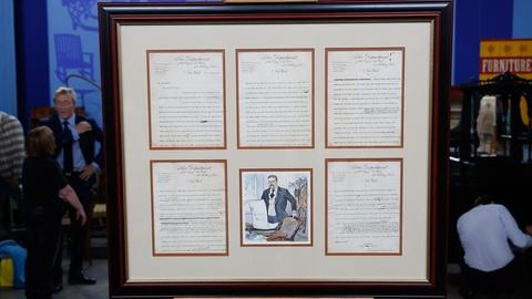 Antiques Roadshow -- S18 Ep32: Appraisal: 1897 Theodore Roosevelt Signed Letter