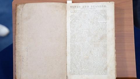 "Antiques Roadshow -- S18 Ep33: Appraisal: 1839-1841 LDS ""Times & Seasons"""
