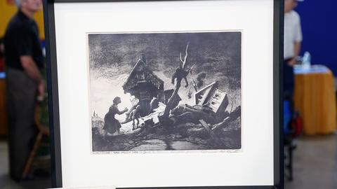 Antiques Roadshow -- S18 Ep33: Appraisal: 1951 Thomas Hart Benton Lithograph with
