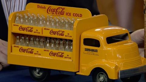 Antiques Roadshow -- S18 Ep34: Appraisal: Smith-Miller Coca-Cola Truck, ca. 1955