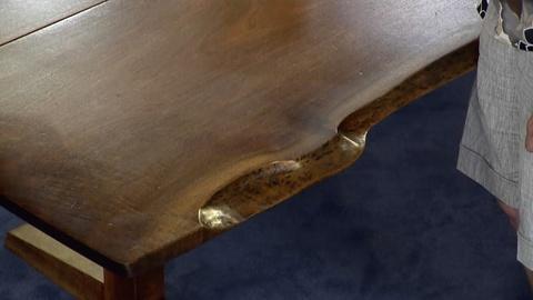 Antiques Roadshow -- S18 Ep34: Appraisal: George Nakashima Walnut Trestle Table &