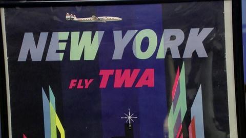Antiques Roadshow -- S18 Ep34: Appraisal: 1956 David Klein TWA Poster