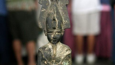 Antiques Roadshow -- S18 Ep35: Appraisal: Bronze Osiris Figure, ca. 300 BC