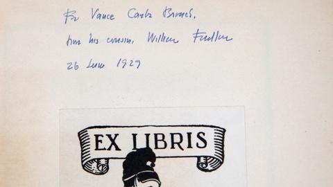 "Antiques Roadshow -- S14 Ep10: Appraisal: 1929 W. Faulkner Inscribed ""Sartoris"" F"