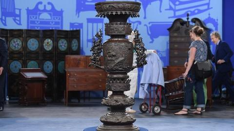 Antiques Roadshow -- S19 Ep1: Appraisal: Japanese Bronze Censer, ca. 1875