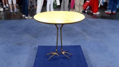 "Appraisal: Meret Oppenheim ""Traccia"" Table, ca. 1979"
