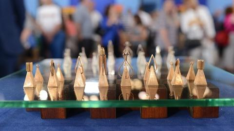 Antiques Roadshow -- S19 Ep1: Appraisal: Paul Lobel Chess Set, ca. 1950