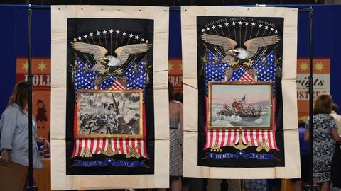 Antiques Roadshow -- S19 Ep1: Appraisal: Patriotic Wall Hangings, ca. 1907