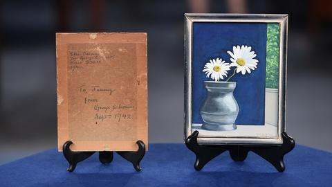"Antiques Roadshow -- S19 Ep1: Appraisal: 1940 George Ault ""Daisies"" Painting"