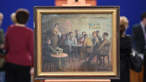 Antiques Roadshow -- S19 Ep1: Appraisal: Harry Gottlieb Oil Painting, ca. 1940